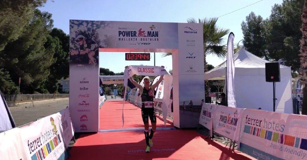 Diego Van Looy wint Powerman Mallorca