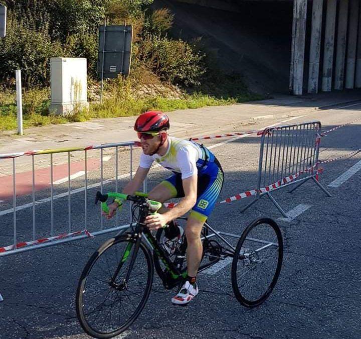 Paratriatleet Jan-Willem Verhaegen wil doorgaan, crowdfunding voor fiets
