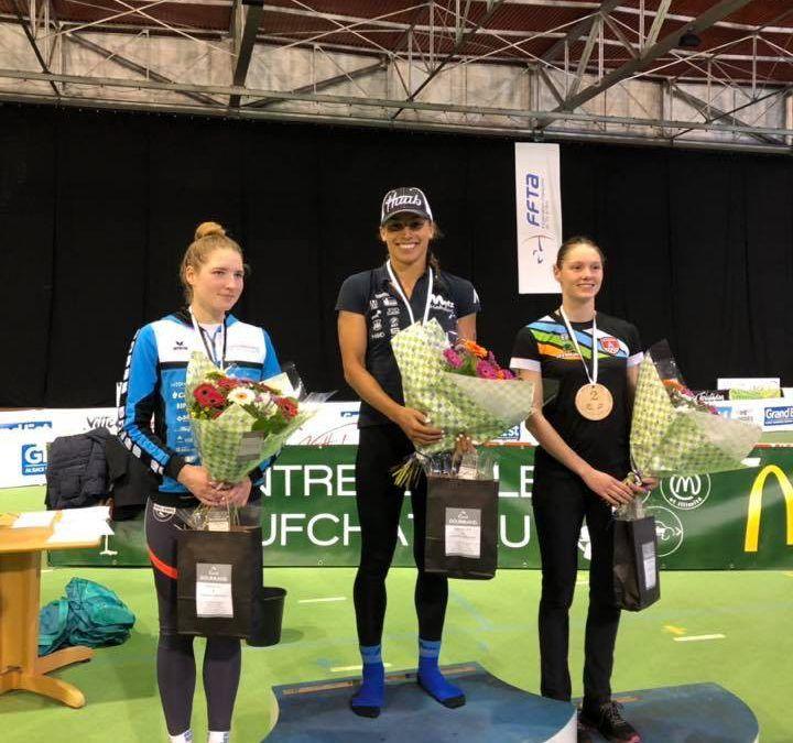 Jolien Vermeylen tweede tussen Franse toppers in aquathlon Vittel