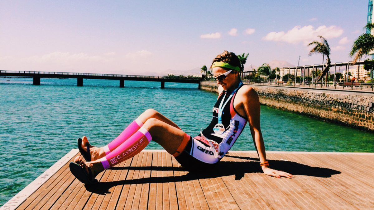 """Girl Power: Laetitia over starten met triatlon """"Gewoon, doen! It's all in the mind"""""""