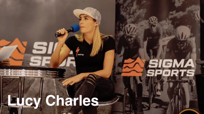 Lucy Charles droomt van olympische triatlon in Parijs 2024