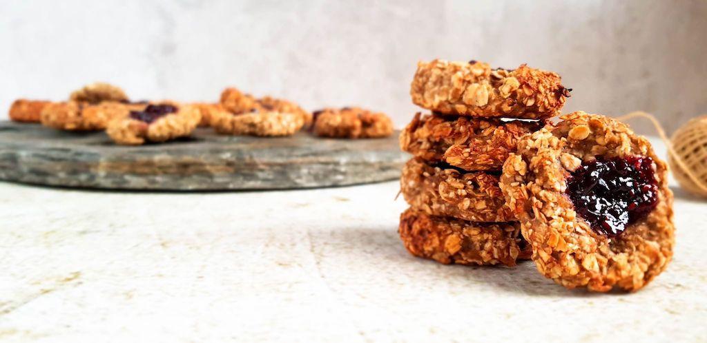 Koekjes om gemakkelijk zelf te maken, zonder vet maar vol koolhydraten