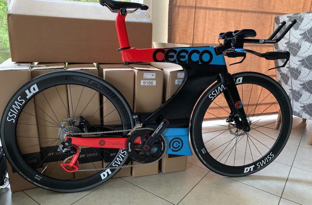 Exclusief: custom painted Ceepo triatlonfiets van vice wereldkampioen Ironman
