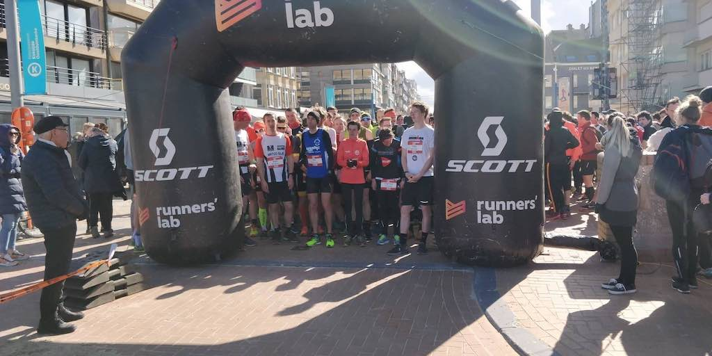 Triatleten bij beste trailrunners in North-C Trail Koksijde