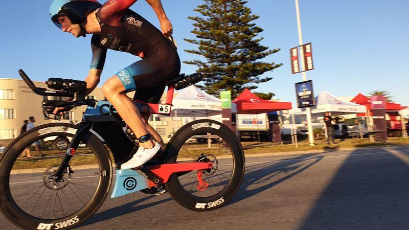 Bart Aernouts pakt 9de plaats in Ironman Zuid-Afrika