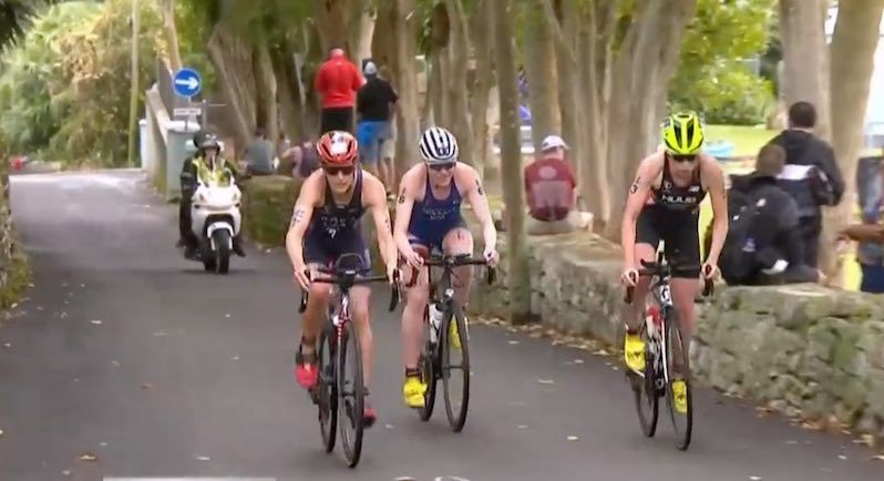 Katie Zaferes pakt revanche op Vicky Holland, Claire Michel 20ste in WTS Bermuda