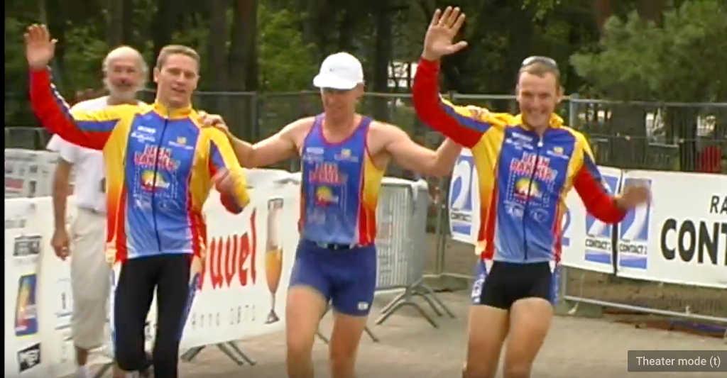 TBT naar 2002 toen Team Relay ook al spektakel opleverde aan Zilvermeer