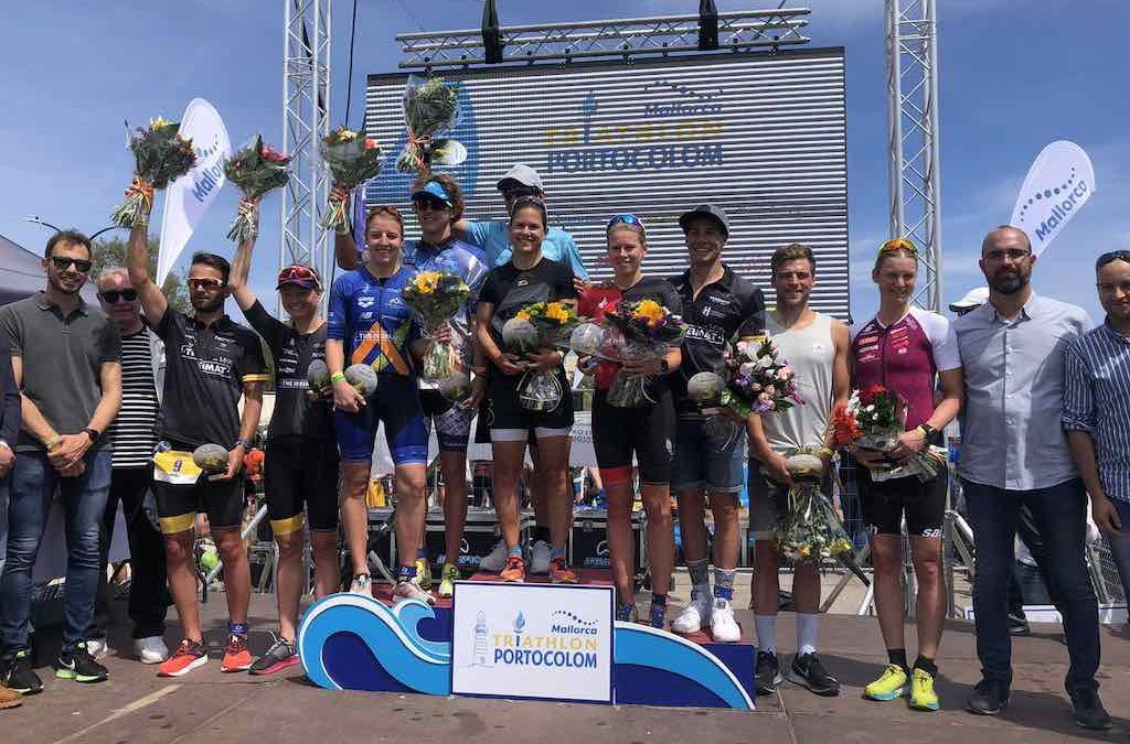 Passuello en Bilham winnen Tri Portocolom, Michael Van Cleven DNF na valpartij