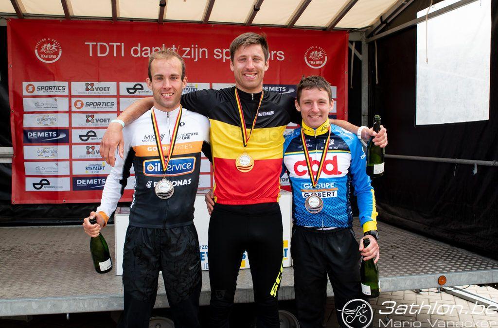 Petralia en Claes nieuwe Belgische kampioenen duatlon