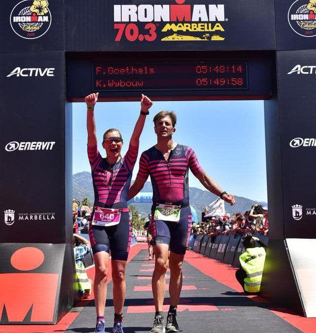 Liefde is… samen je triatlon finishen
