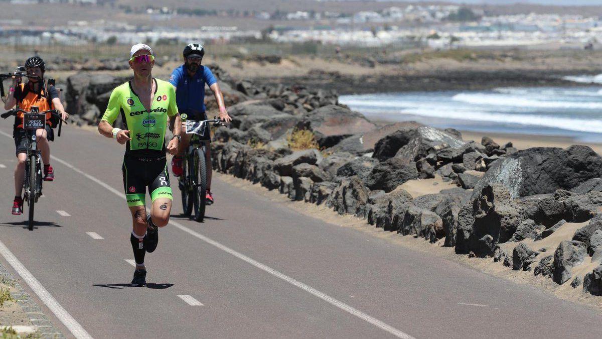 Frederik Van Lierde wint zijn eerste Ironman Lanzarote op verjaardag