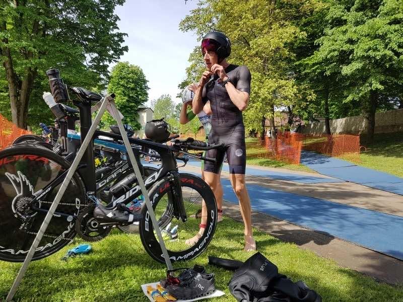 Geen topdag voor Marino Vanhoenacker in Austrian 1/2 Iron Triathlon