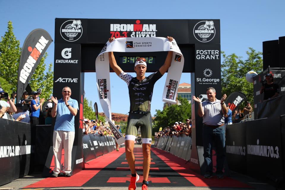 Halve Belg haalt het van Belgische triatleet in 70.3 Ironman St. George