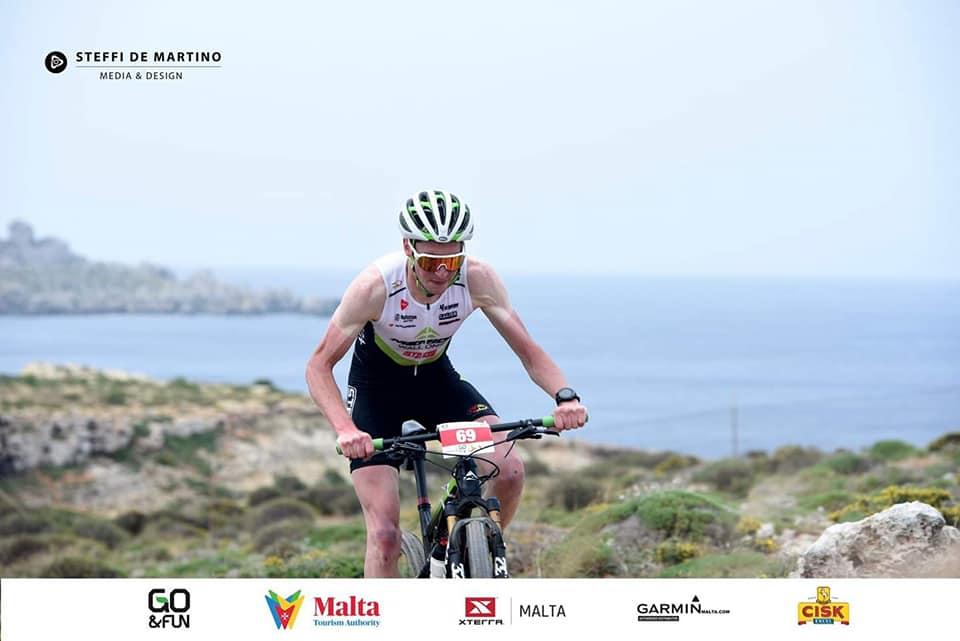 Mountainbike topper pakt 4de plaats in Xterra Malta