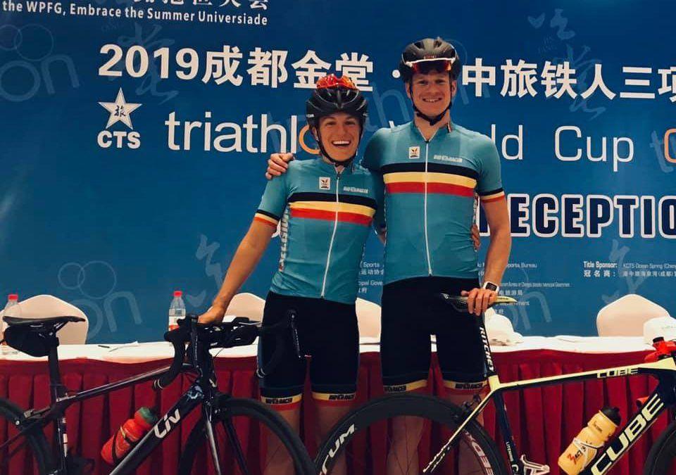 Barthelemy 2de in halve finale, De Keyser mist finale met 2 seconden in Chengdu
