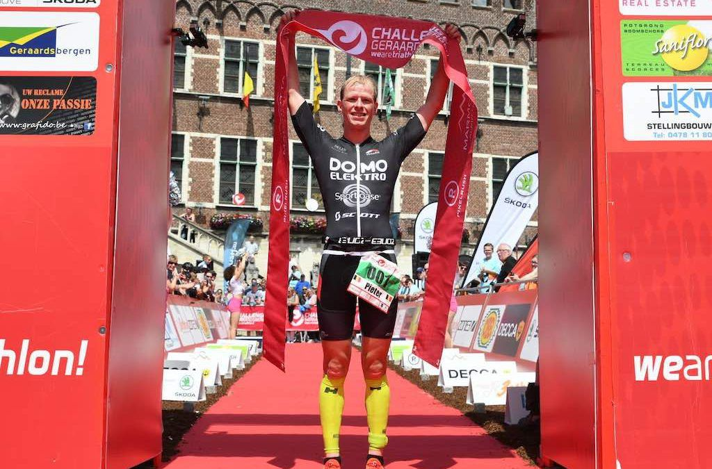 Pieter Heemeryck maakt indruk met winst in Challenge Geraardsbergen