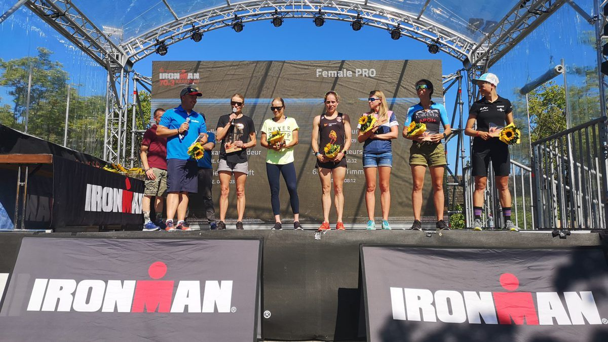 Drie Belgische vrouwen in top-5 in 70.3 Ironman Kraichgau, Jan Frodeno wint