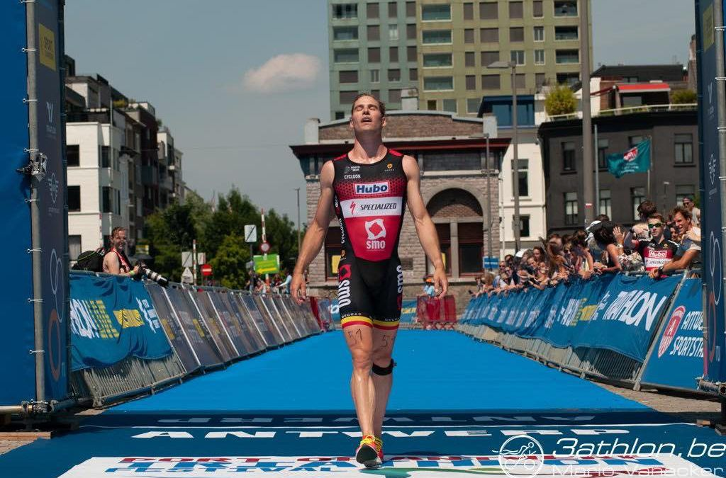 Simon De Cuyper sterkste in spectaculaire T3 triatlon in Antwerpen