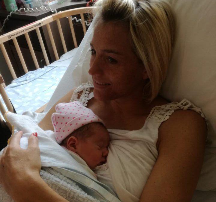 """Sofie Goos mama geworden van Babette: """"Magische gebeurtenis, eerst even genieten"""""""