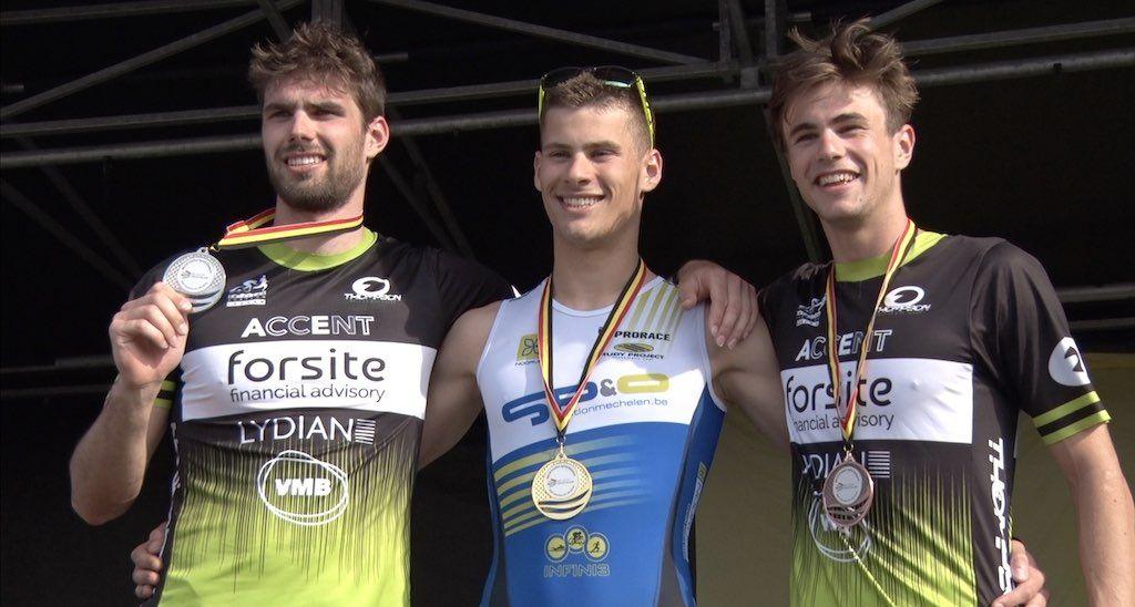 Tom Van Cappellen in top-15 van ETU Europabeker triatlon in Polen