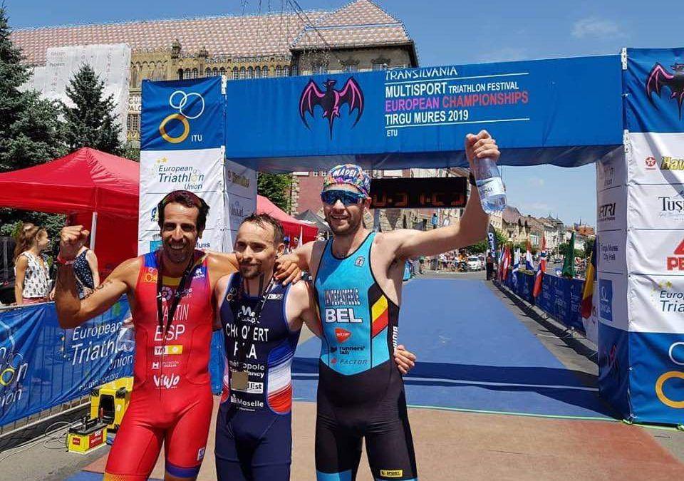 EK Multisport: Angelo Vandecasteele herhaalt WK-stunt, drie extra medailles