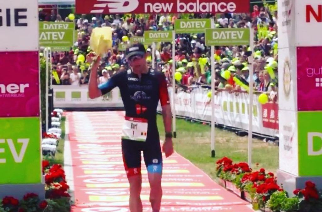 Bart Aernouts net naast podium in Challenge Roth