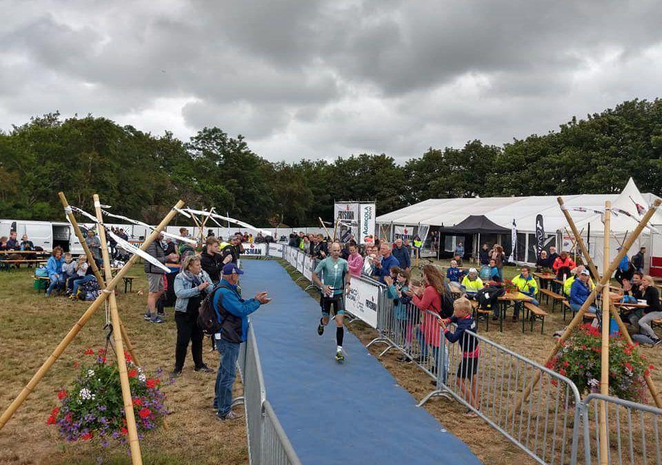 Dirk Baelus pakt tweede plaats in Nederlandse Frysman volledige triatlon