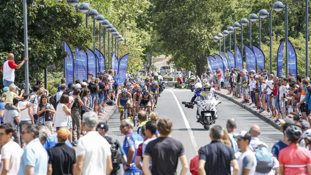 Te sterke stroming verandert GP triatlon Muret in duatlon, Erwin Vanderplancke 13de