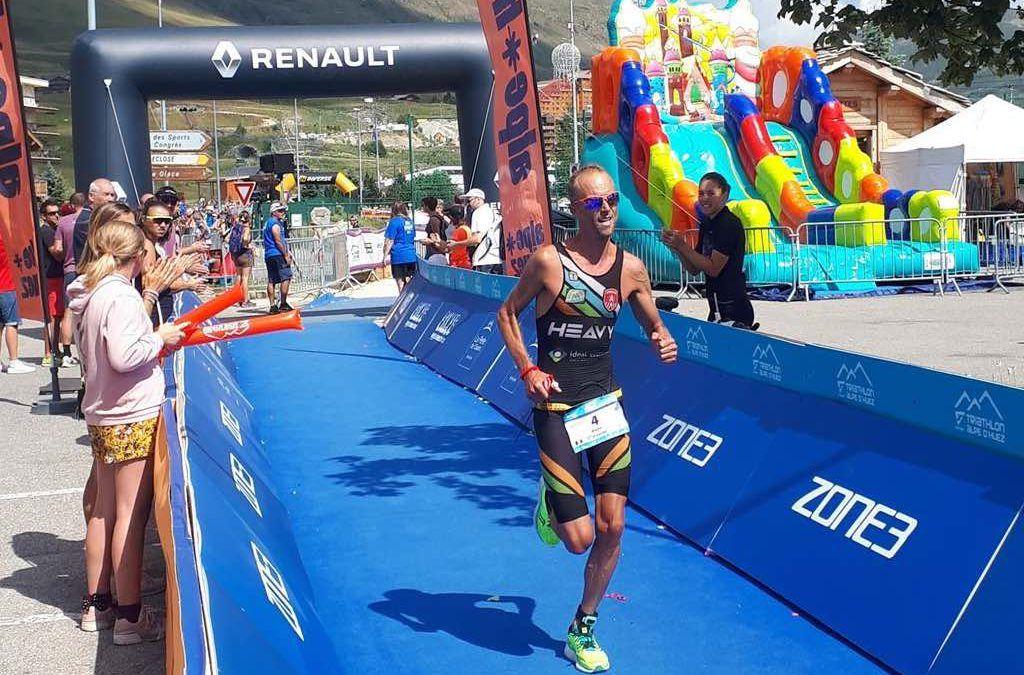 Koen Veramme en Katrien Maes vierde in Alpe d'Huez achter top internationals