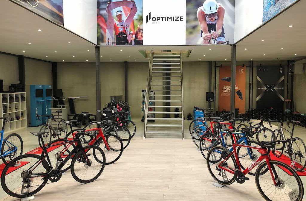 Feestelijke opening Optimize Bike & Tri met ontbijt en elk uur prijzen te winnen