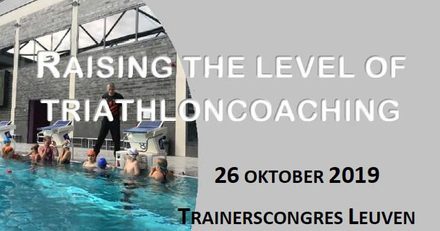 Triathloncongres op 26 oktober in Leuven: voor en door triatlontrainers