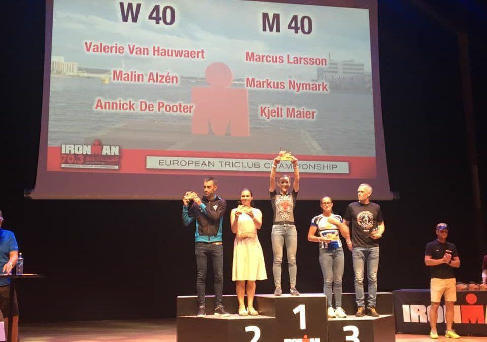 Valerie Van Hauwaert zevende in 70.3 IM Jonkoping en beste age grouper