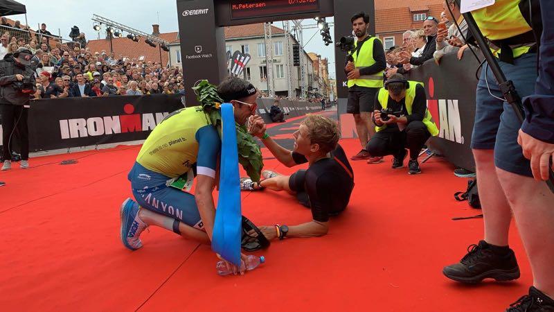 Zeven triatleten onder de acht uur in Ironman Kalmar, Boris Stein wint