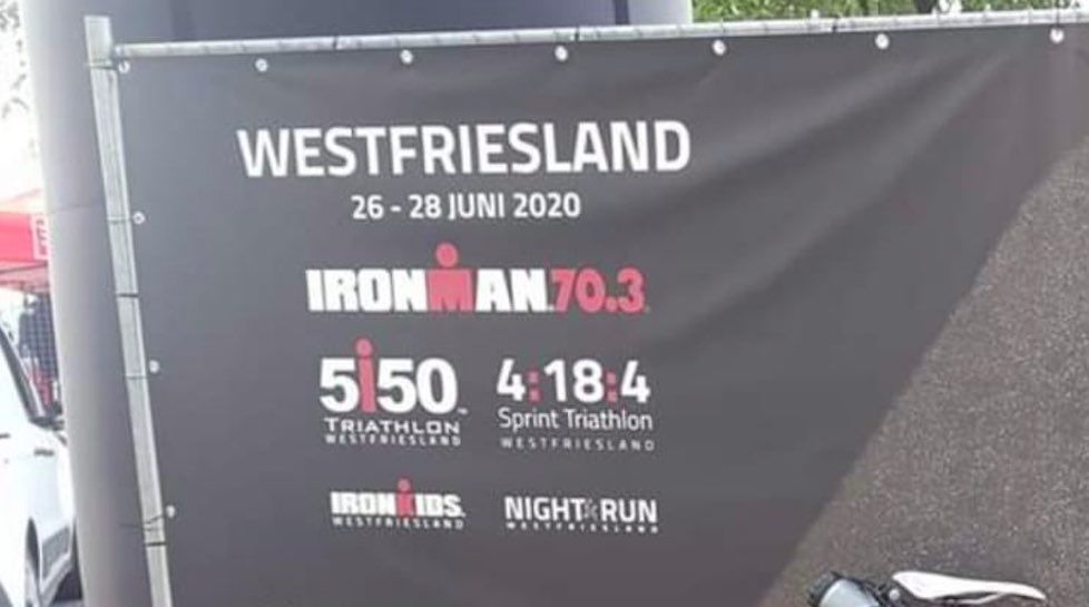 70.3 Ironman Westfriesland kondigt nieuwe datum aan, in 2020 nog