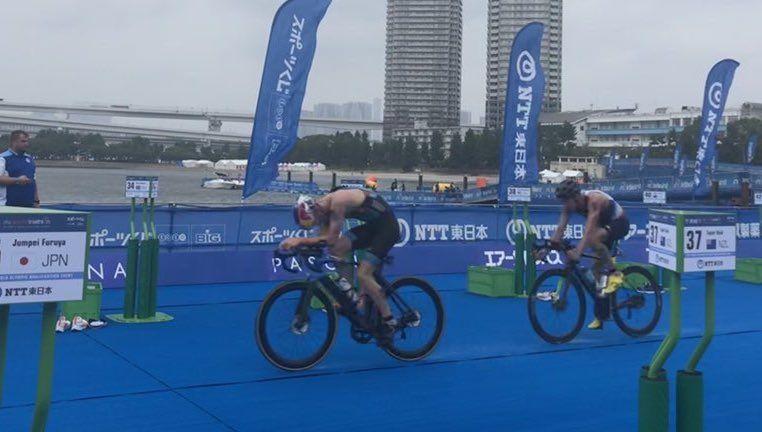 Jelle Geens en Marten Van Riel niet beloond in test-event in Tokio