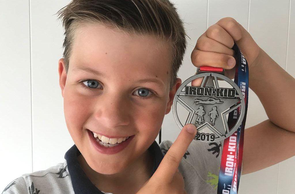De Iron Kids triatlon in Knokke-Heist liep op wieltjes…