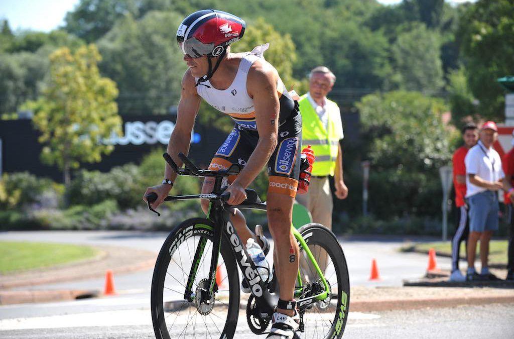 Helga Sibick pakt winst in volledige Ironman Vichy, Tim Brydenbach tweede