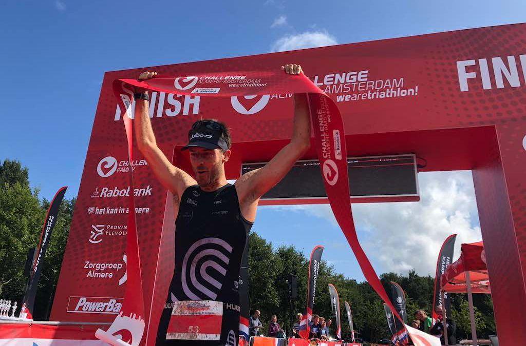 Tim Van Hemel wint NK cross triatlon op parcours van WK 2020 in Almere