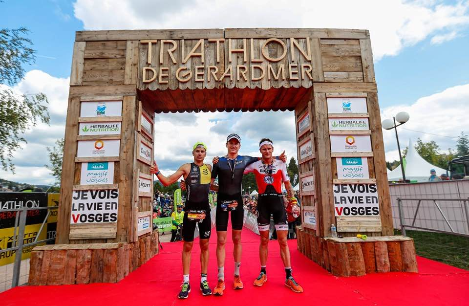 Belgen genekt door pech in long distance triatlon van Gerardmer