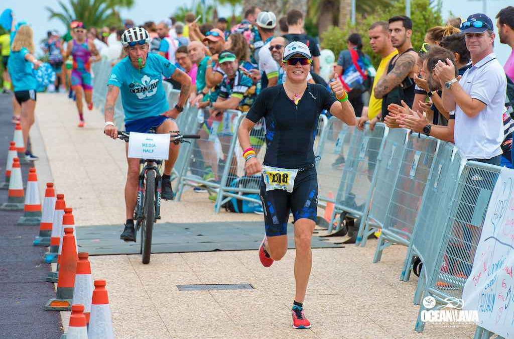 Alexandra Tondeur wint Ocean Lava Lanzarote… achter vier mannen