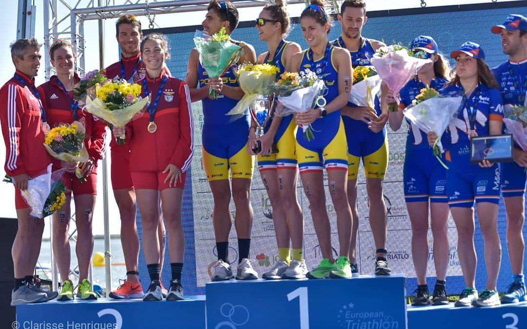 Atriac Antwerpen vierde achter Europese topclubs op EK Mixed Team Relay
