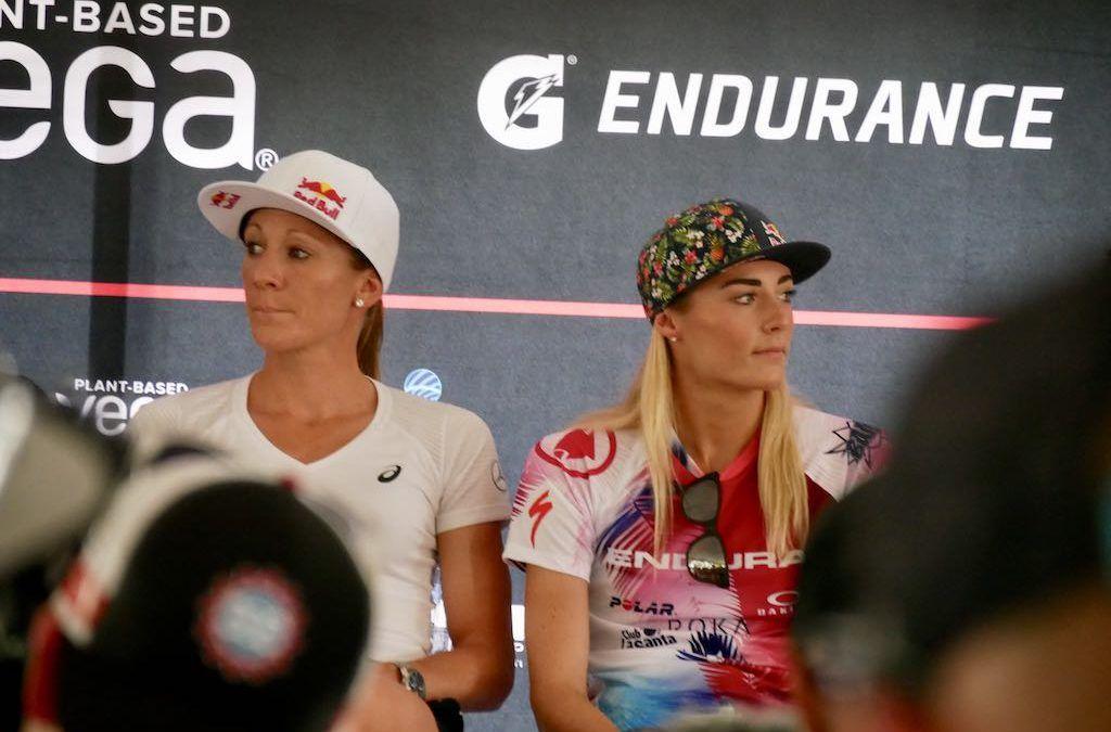 Gunnen Daniela Ryf en Lucy Charles elkaar geen blik waardig bij Ironman Hawaii?