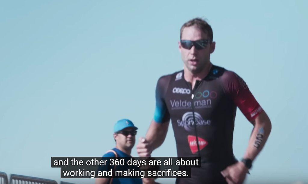 Hoofdrol voor Bart Aernouts in 'Ironmind', inspirerende film van On Running
