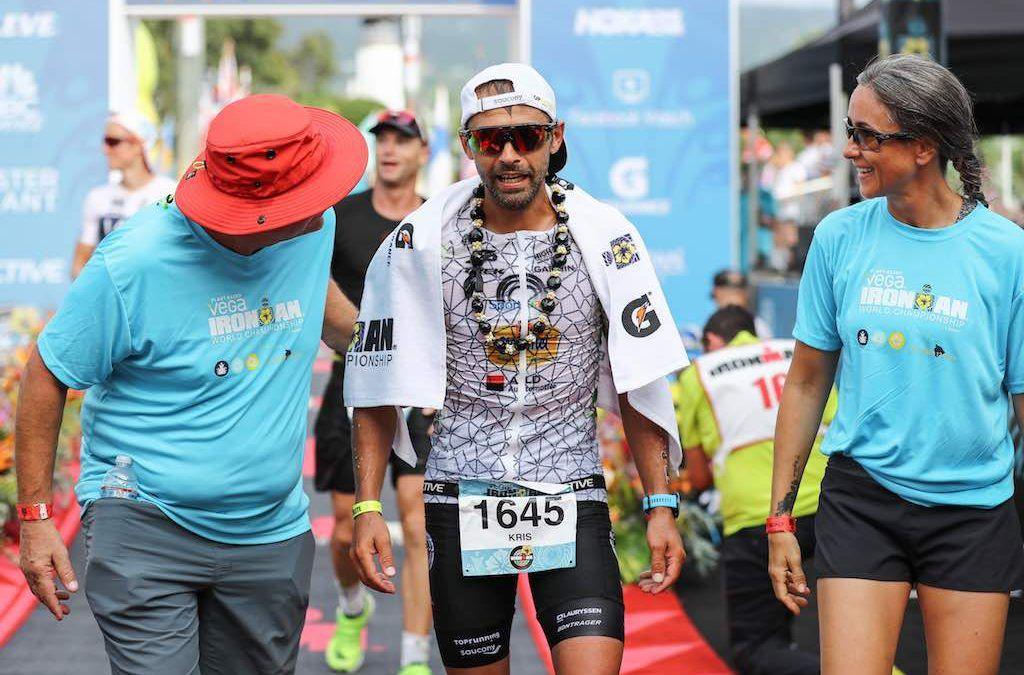 """Kris Vermeiren na Ironman Hawaii """"Voorlopig laatste volledig triatlon voor mij"""""""