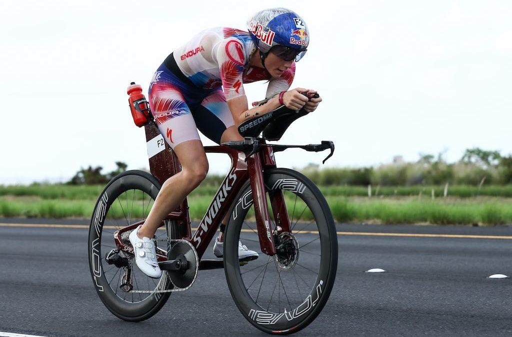 Britse triatlete Lucy Charles test positief op corona maar heeft geen symptomen
