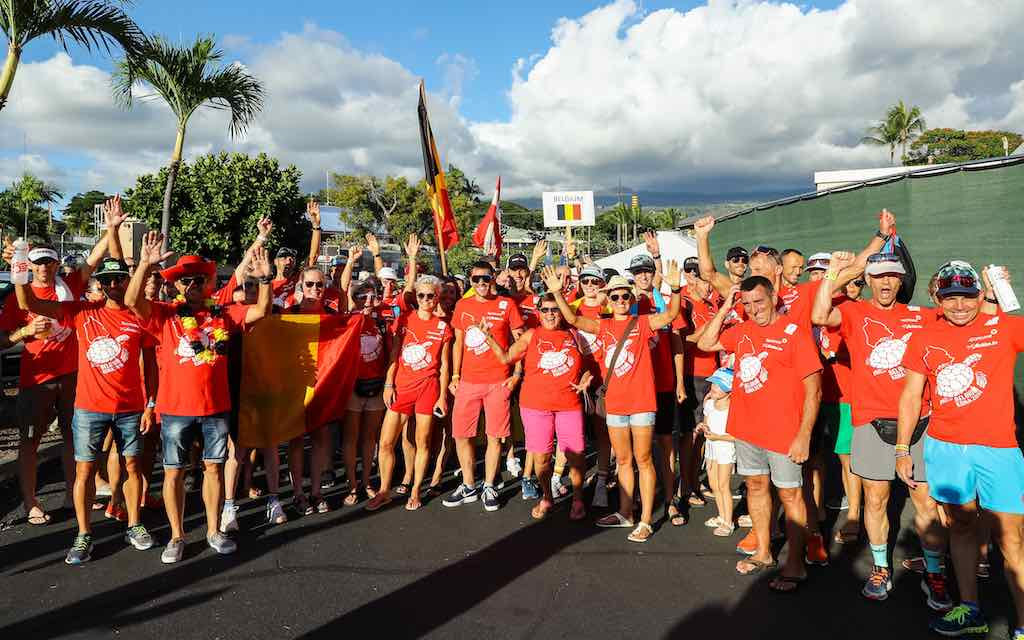 Race week in Kona is nu echt begonnen met de Nations Parade in Hawaii