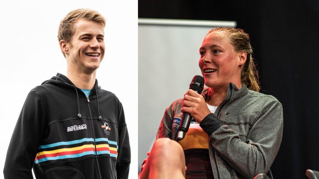 TRIATLEET/TRIATLETE 2019: Nominees aan het woord: Marten Van Riel en Sara Van de Vel