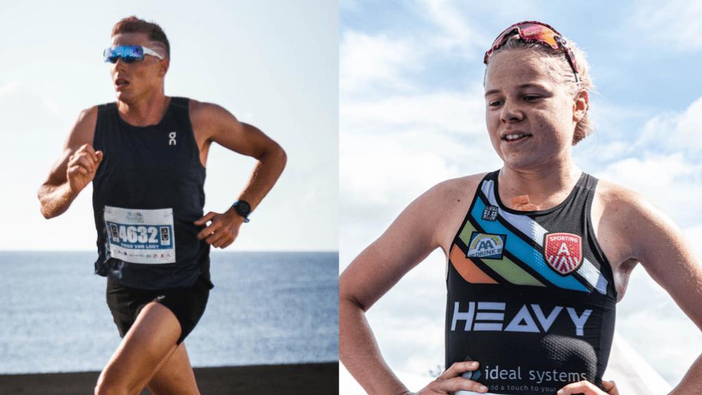 TRIATLEET/TRIATLETE 2019: Nominees aan het woord: Diego Van Looy en Laura Swannet
