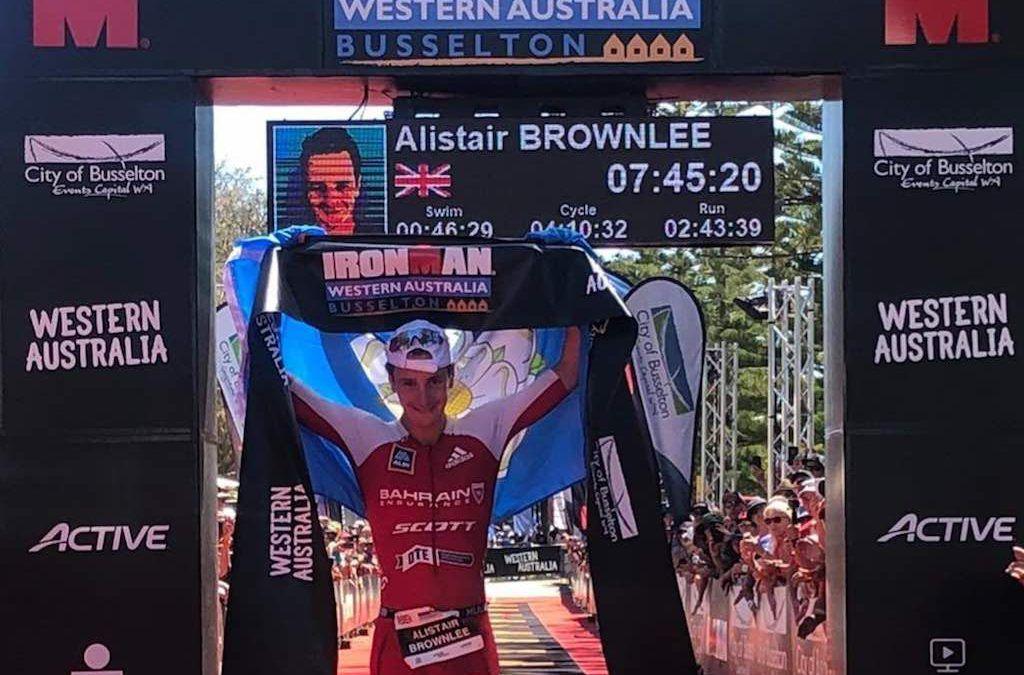 Alistair Brownlee breekt record in Ironman Western Australia en mag naar Kona