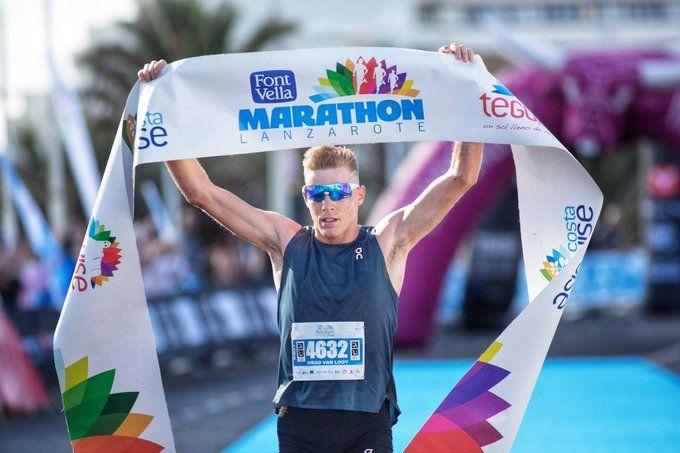Diego Van Looy debuteert en wint marathon Lanzarote in minder dan 2u30